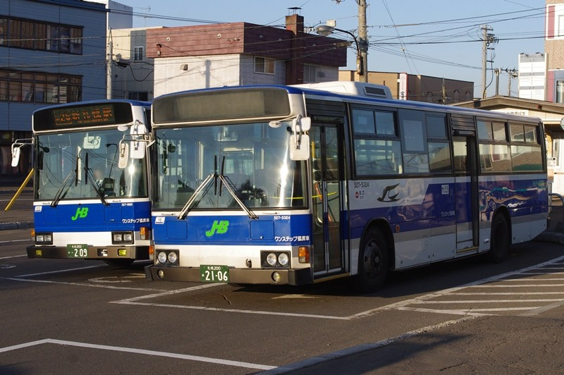 2010年10月23日 江別駅 撮影:MAPBUS