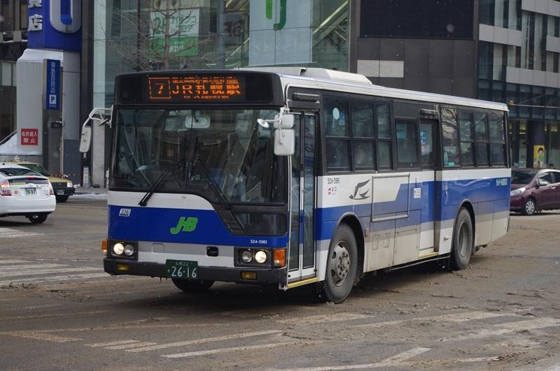 2013年2月12日 札幌駅 撮影:MAPBUS