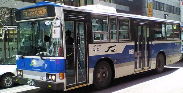 2007年春頃 札幌駅前 撮影者:北拓