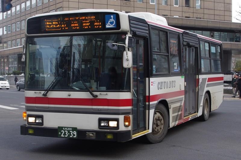 2012年3月16日 札幌市内 撮影:MAPBUS