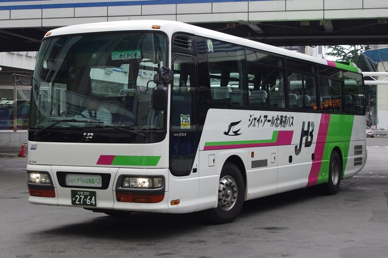 2011年8月10日 札幌駅 撮影:MAPBUS