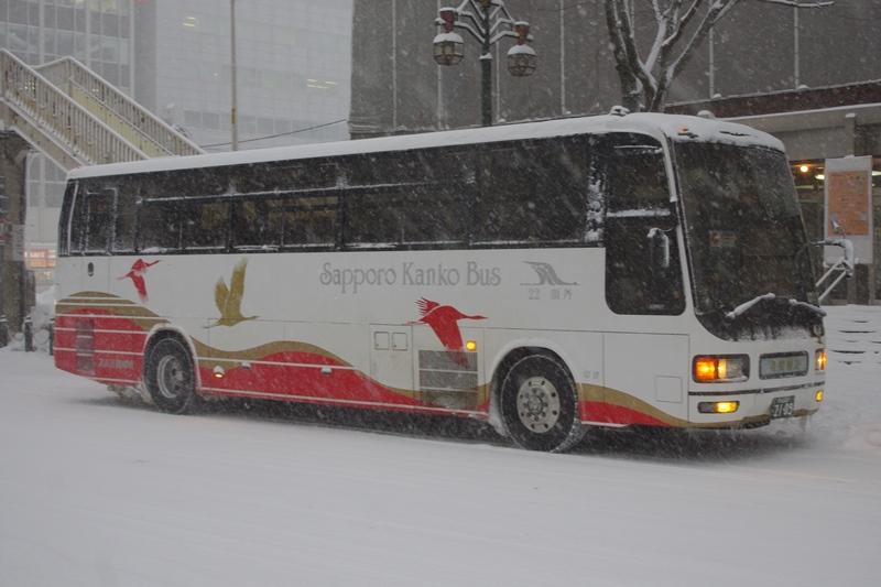 2010年2月6日 札幌市内 撮影:MAPBUS