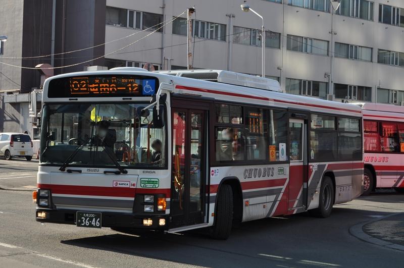 2014年3月末 札幌ターミナル 撮影:OTB
