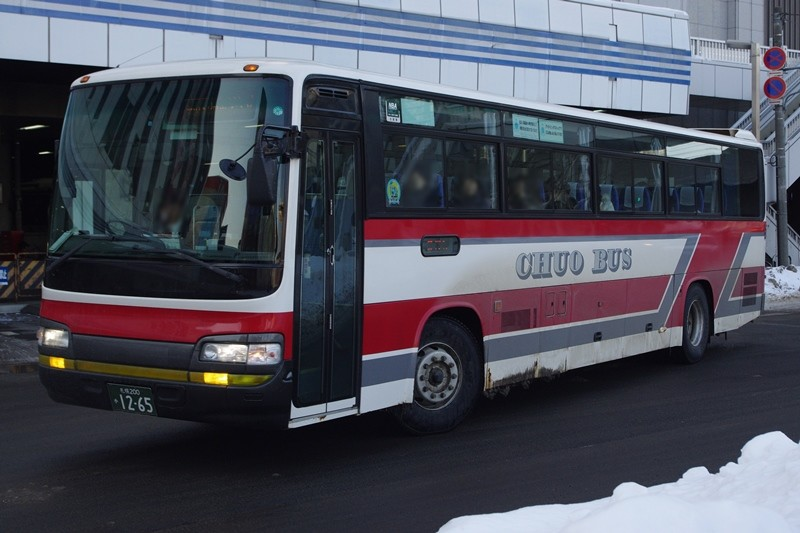 2013年2月13日 札幌駅 撮影:MAPBUS