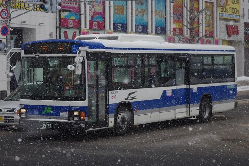 2014年3月7日 札幌市内 撮影:MAPBUS