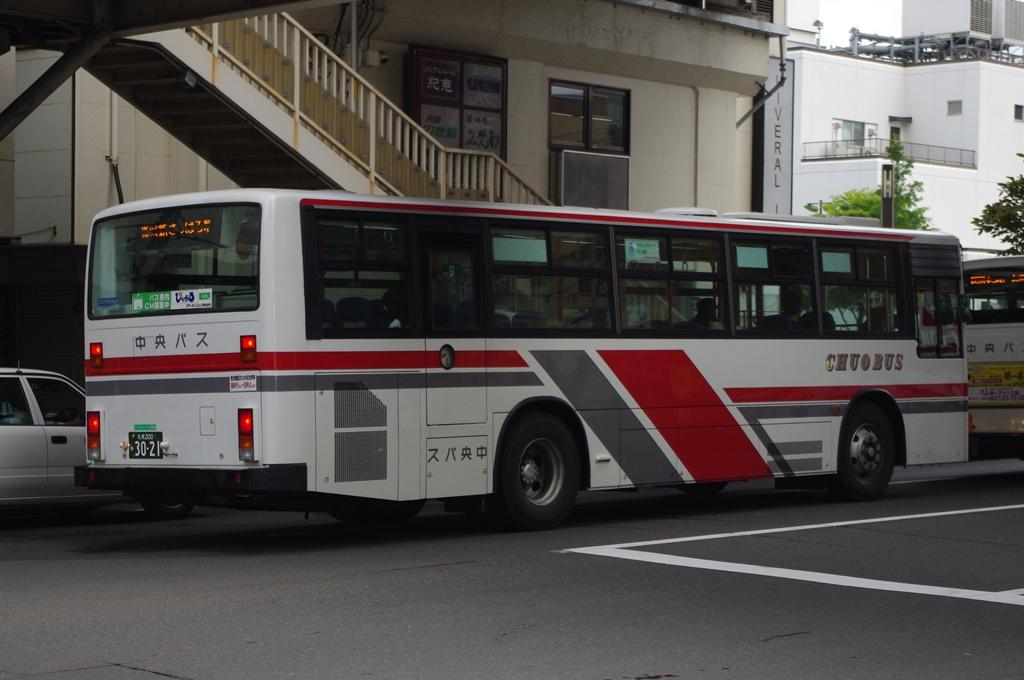 2012年8月16日 新札幌バスターミナル 撮影:MAPBUS