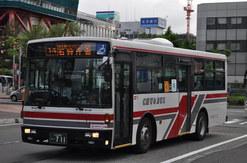 2014年6月8日 札幌ターミナル 撮影:OTB