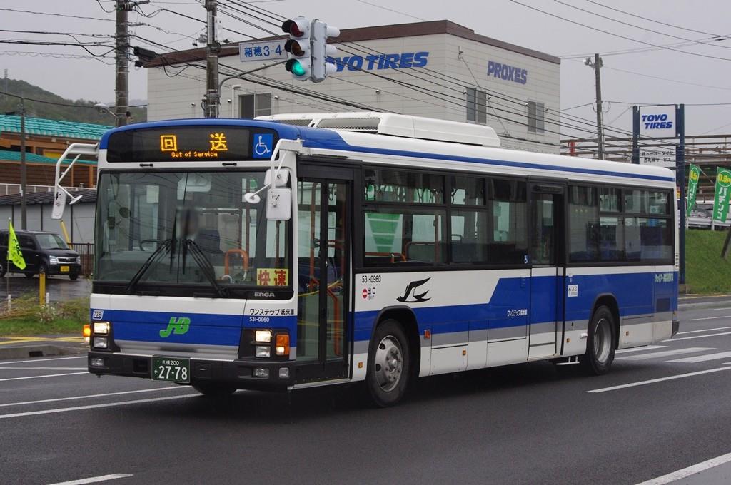 2010年10月4日 手稲営業所付近 撮影:MAPBUS