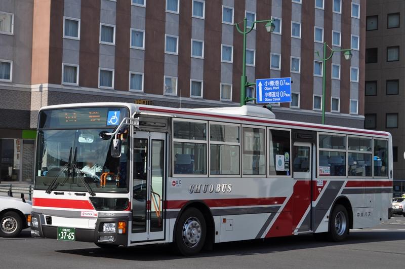 2014年8月31日 小樽駅 撮影:OTB