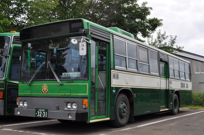 2014年8月18日 道南バス札幌営業所(許可を得て撮影) 撮影:OTB
