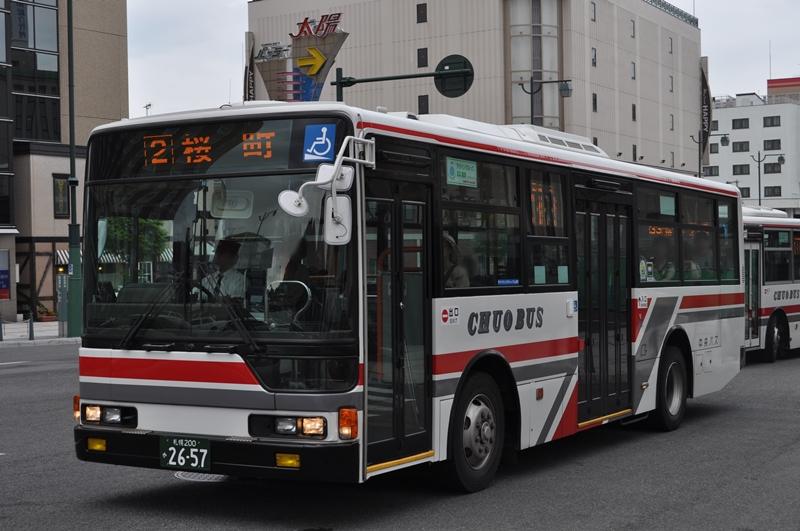 2010年8月9日 小樽駅前付近 撮影:OTB
