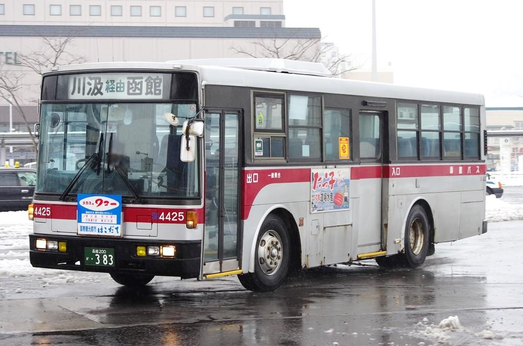 2014年3月6日 函館駅 撮影:MAPBUS