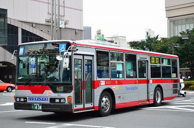 2012年6月28日 大井町駅 撮影:HU2PMEE