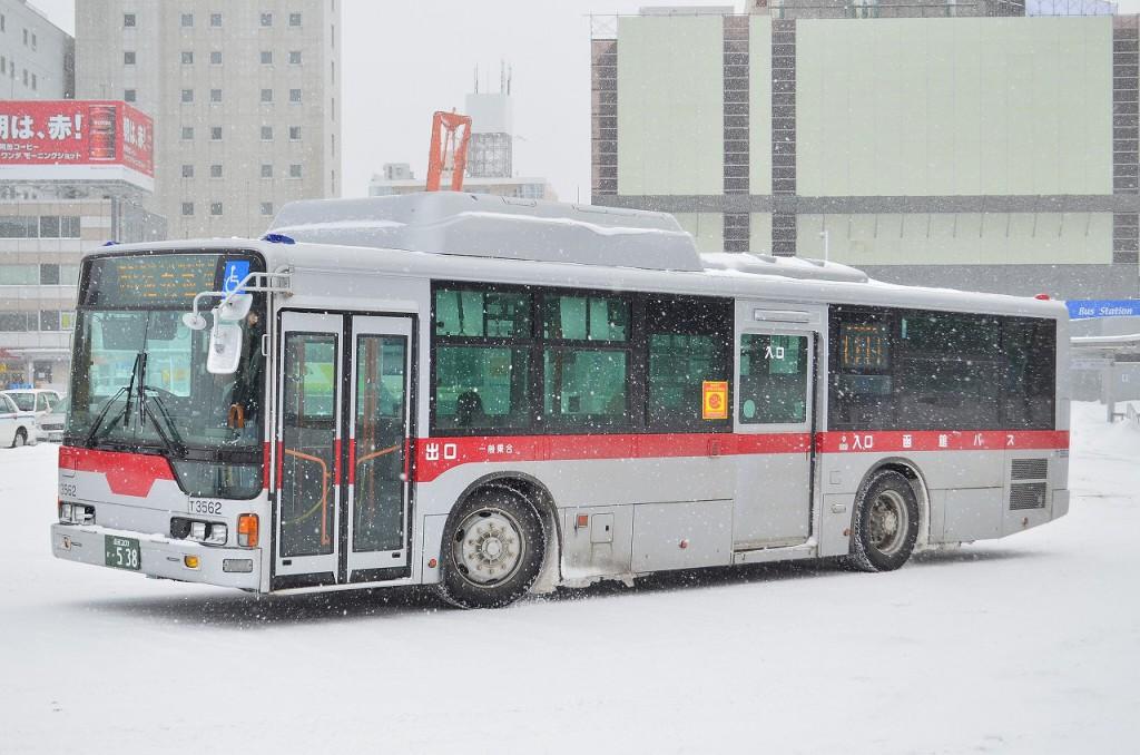 2014年3月7日 函館駅 撮影:HU2PMEE