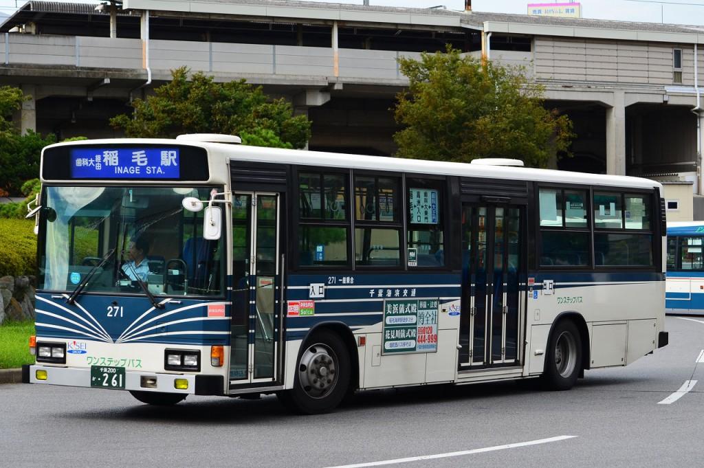2012年8月14日 稲毛駅 撮影:HU2PMEE