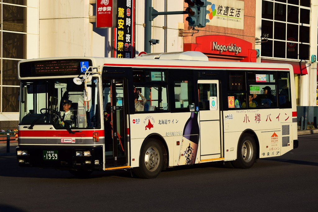 2015年5月31日 小樽駅 撮影:HU2PMEE