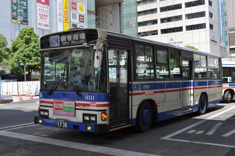 2010年7月28日 川崎駅 撮影:OTB