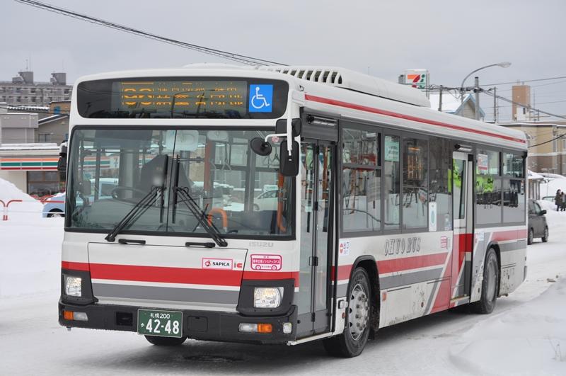 2016年2月 札幌市内 撮影:OTB