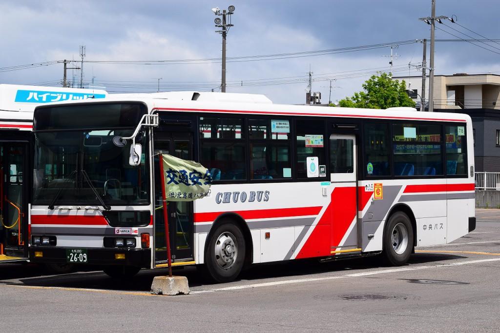 2015年5月31日 札幌東営業所(敷地外) 撮影:HU2PMEE