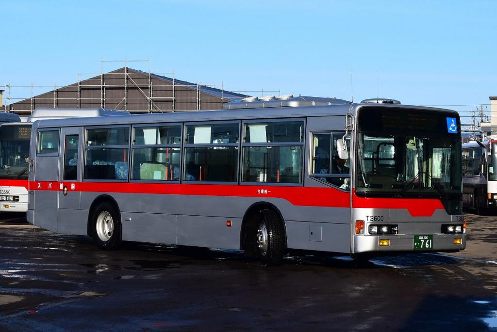 2016年3月5日 函館バスセンター 撮影:HU2PMEE