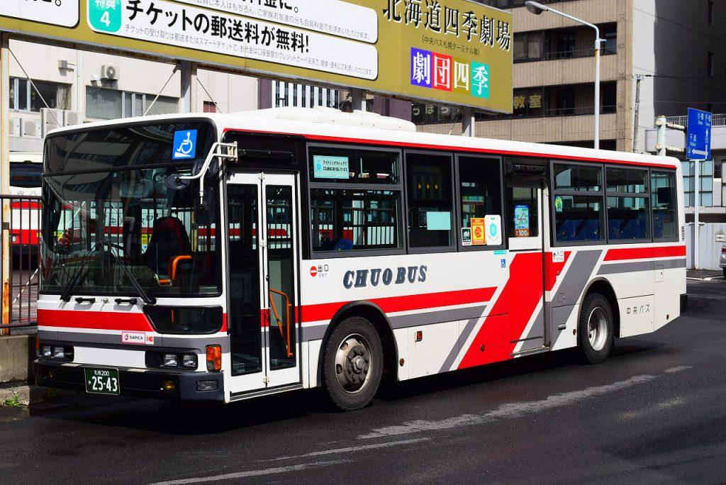2015年5月31日 中央バス札幌ターミナル 撮影:HU2PMEE